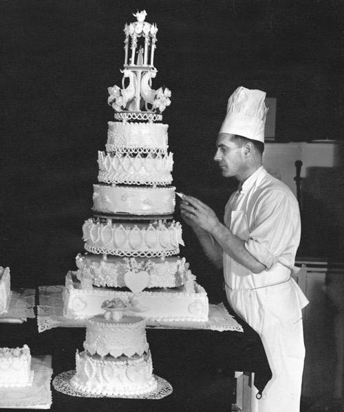 Society Bakery Wedding Cake