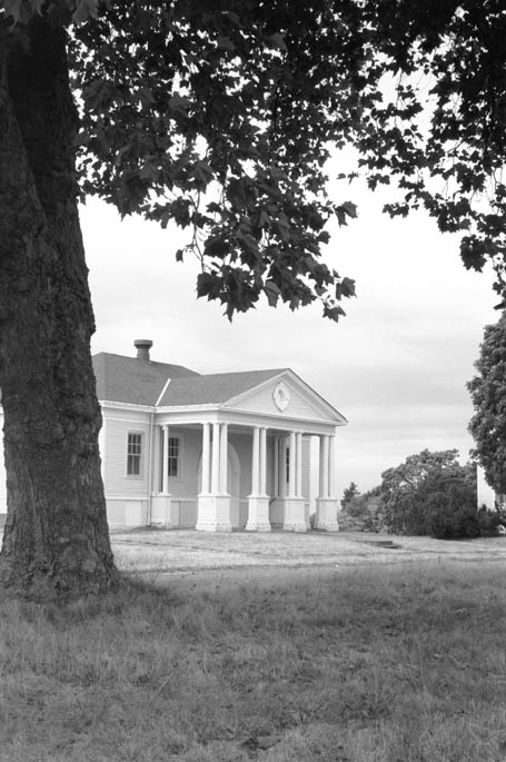 The Post Exchange and Gymnasium building remains today as one of the Fort Lawton Historic District buildings. Photo Monica Wooton 2000